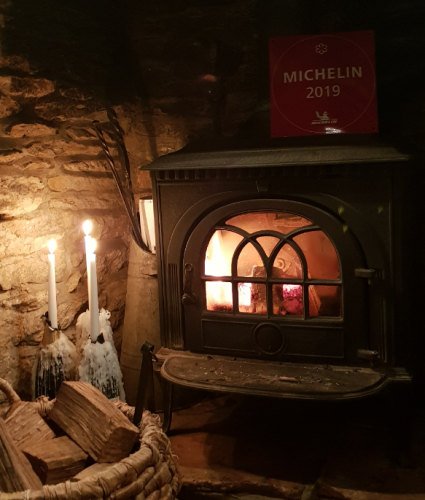 Nut tree inn Michelin Star fire